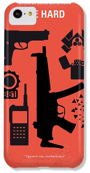 Los Angeles iPhone 5c Case - No453 My Die Hard Minimal Movie Poster by Chungkong Art