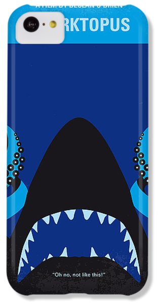 No485 My Sharktopus Minimal Movie Poster IPhone 5c Case by Chungkong Art