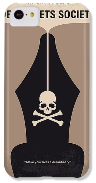 Robin iPhone 5c Case - No486 My Dead Poets Society Minimal Movie Poster by Chungkong Art