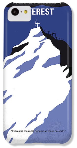 No492 My Everest Minimal Movie Poster IPhone 5c Case