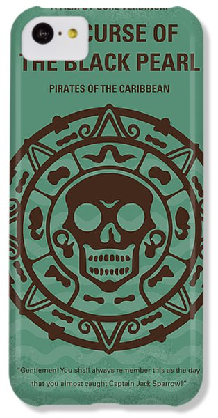 No494-1 My Pirates Of The Caribbean I Minimal Movie Poster IPhone 5c Case