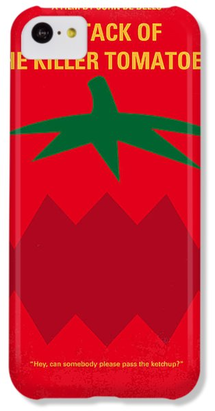 No499 My Attack Of The Killer Tomatoes Minimal Movie Poster IPhone 5c Case