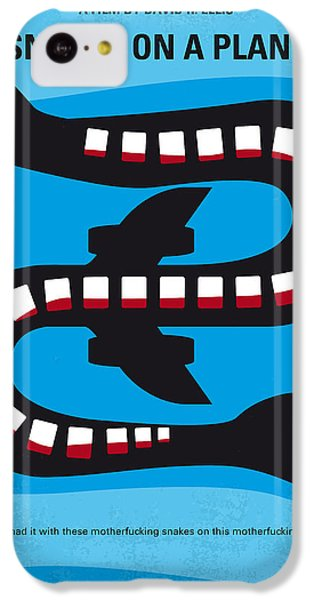 No501 My Snakes On A Plane Minimal Movie Poster IPhone 5c Case