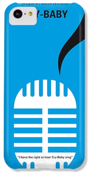 No505 My Cry-baby Minimal Movie Poster IPhone 5c Case by Chungkong Art