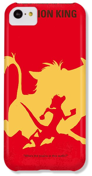 No512 My The Lion King Minimal Movie Poster IPhone 5c Case