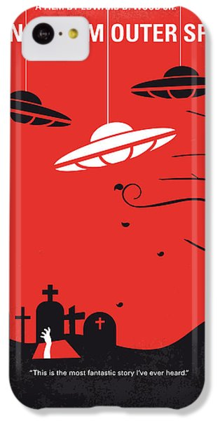 No518 My Plan 9 From Outer Space Minimal Movie Poster IPhone 5c Case