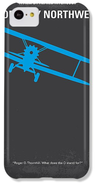 Mount Rushmore iPhone 5c Case - No535 My North By Northwest Minimal Movie Poster by Chungkong Art
