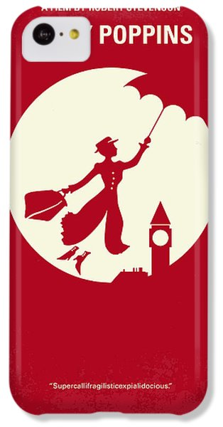 No539 My Mary Poppins Minimal Movie Poster IPhone 5c Case by Chungkong Art
