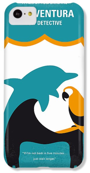No558 My Ace Ventura Minimal Movie Poster IPhone 5c Case by Chungkong Art