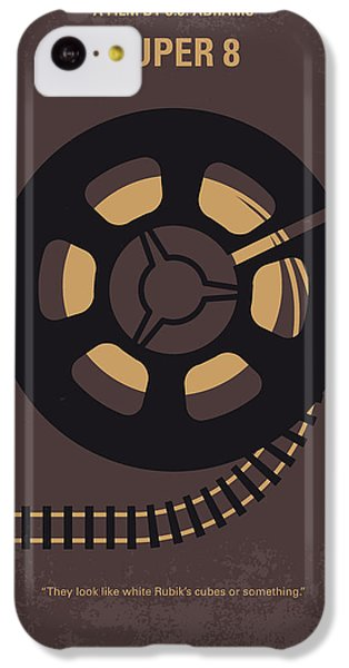 Aliens iPhone 5c Case - No578 My Super 8 Minimal Movie Poster by Chungkong Art