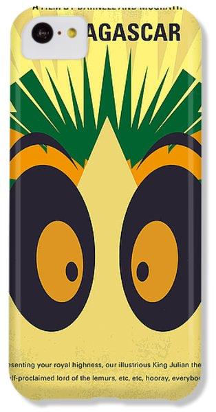 Penguin iPhone 5c Case - No589 My Madagascar Minimal Movie Poster by Chungkong Art