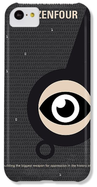 No598 My Citizenfour Minimal Movie Poster IPhone 5c Case