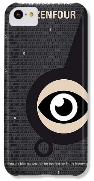 No598 My Citizenfour Minimal Movie Poster IPhone 5c Case by Chungkong Art