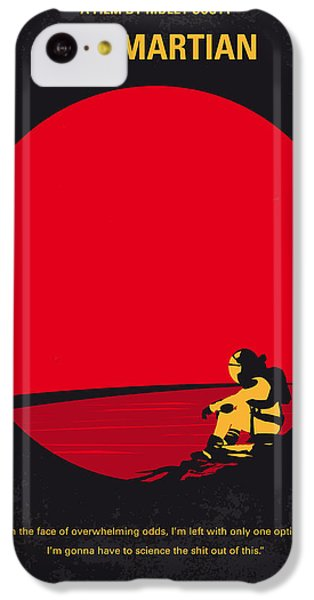 No620 My The Martian Minimal Movie Poster IPhone 5c Case