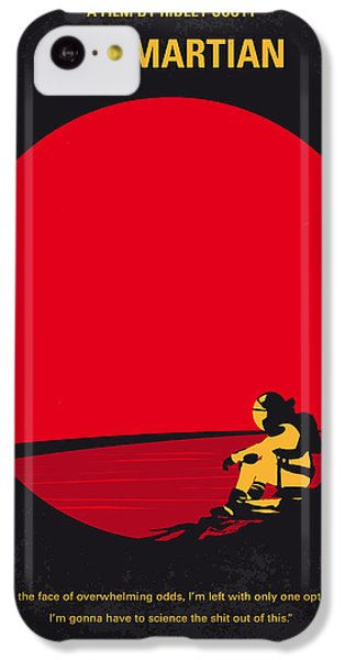 No620 My The Martian Minimal Movie Poster IPhone 5c Case by Chungkong Art