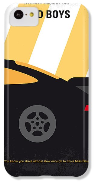 No627 My Bad Boys Minimal Movie Poster IPhone 5c Case by Chungkong Art