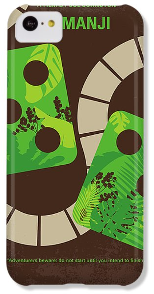 Robin iPhone 5c Case - No653 My Jumanji Minimal Movie Poster by Chungkong Art