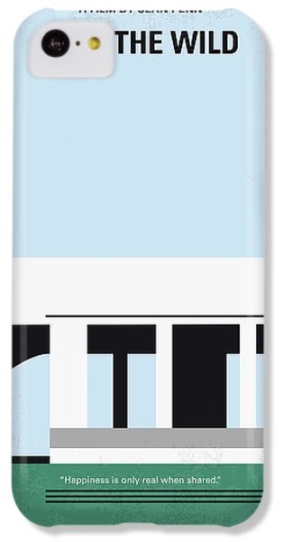 No677 My Into The Wild Minimal Movie Poster IPhone 5c Case