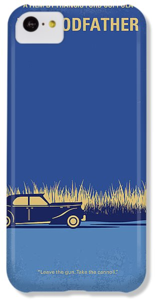 The iPhone 5c Case - No686-1 My Godfather I Minimal Movie Poster by Chungkong Art