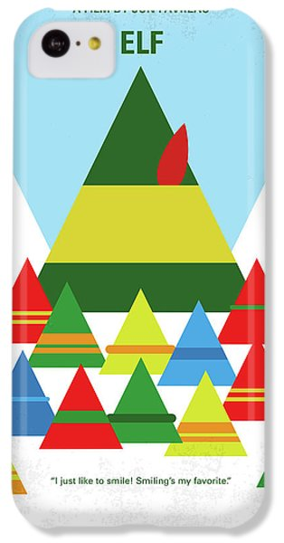 Elf iPhone 5c Case - No699 My Elf Minimal Movie Poster by Chungkong Art