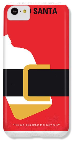 No702 My Bad Santa Minimal Movie Poster IPhone 5c Case