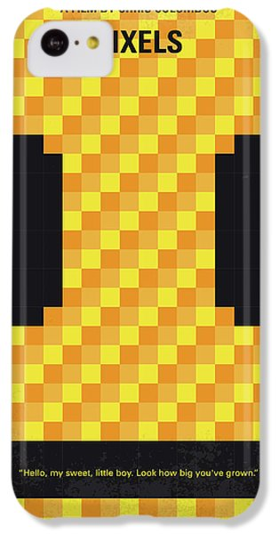 Aliens iPhone 5c Case - No703 My Pixels Minimal Movie Poster by Chungkong Art