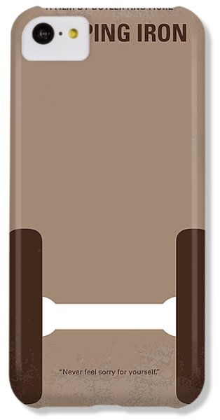 No707 My Pumping Iron Minimal Movie Poster IPhone 5c Case