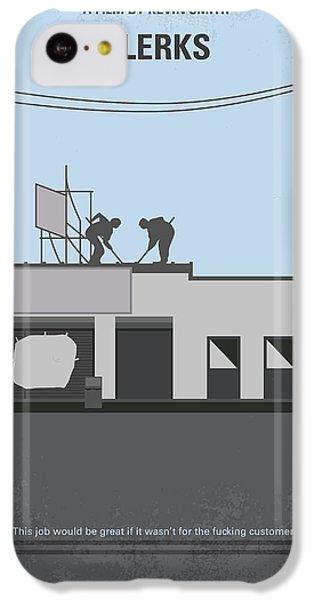 Hockey iPhone 5c Case - No715 My Clerks Minimal Movie Poster by Chungkong Art