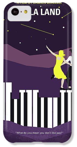Jazz iPhone 5c Case - No756 My La La Land Minimal Movie Poster by Chungkong Art