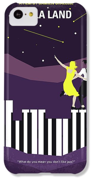 No756 My La La Land Minimal Movie Poster IPhone 5c Case by Chungkong Art