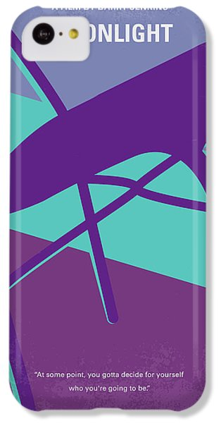 Miami iPhone 5c Case - No757 My Moonlight Minimal Movie Poster by Chungkong Art