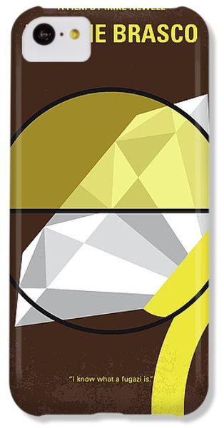No766 My Donnie Brasco Minimal Movie Poster IPhone 5c Case
