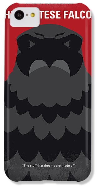 Falcon iPhone 5c Case - No780 My The Maltese Falcon Minimal Movie Poster by Chungkong Art