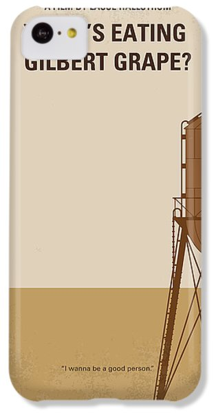 No795 My Whats Eating Gilbert Grape Minimal Movie Poster IPhone 5c Case