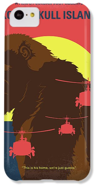 Helicopter iPhone 5c Case - No799 My Skull Island Minimal Movie Poster by Chungkong Art