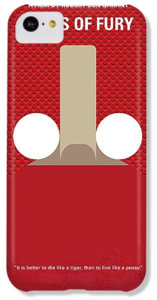 London Tube iPhone 5c Case - No822 My Balls Of Fury Minimal Movie Poster by Chungkong Art