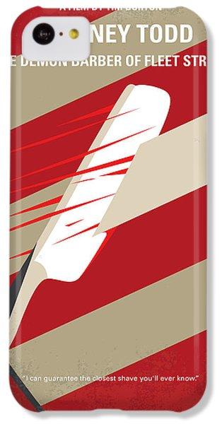No849 My Sweeney Todd Minimal Movie Poster IPhone 5c Case