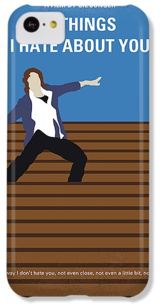 No850 My 10 Things I Hate About You Minimal Movie Poster IPhone 5c Case