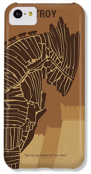 No862 My Troy Minimal Movie Poster IPhone 5c Case