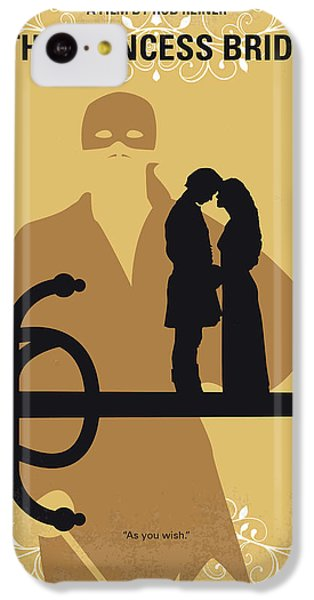 Robin iPhone 5c Case - No877 My The Princess Bride Minimal Movie Poster by Chungkong Art