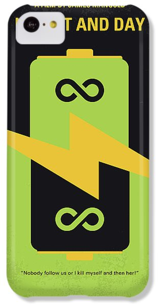 Knight iPhone 5c Case - No899 My Knight And Day Minimal Movie Poster by Chungkong Art
