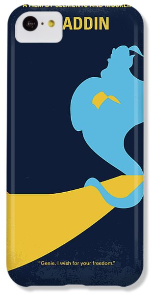 Robin iPhone 5c Case - No920 My Aladdin Minimal Movie Poster by Chungkong Art