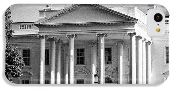 Whitehouse iPhone 5c Case - north facade of the White House Washington DC USA by Joe Fox