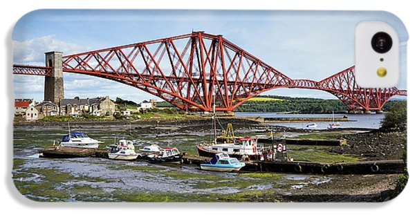 IPhone 5c Case featuring the photograph North Queensferry by Jeremy Lavender Photography