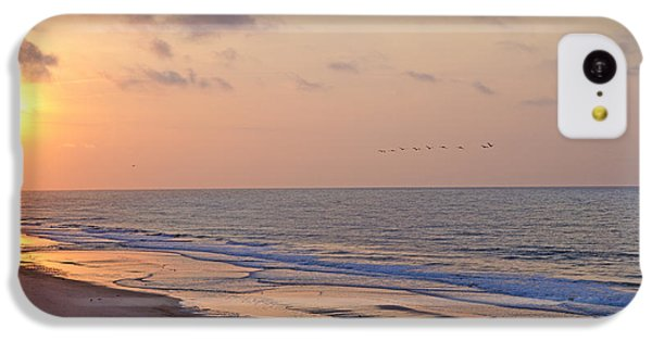 Pelican iPhone 5c Case - North Topsail Beach Glory by Betsy Knapp