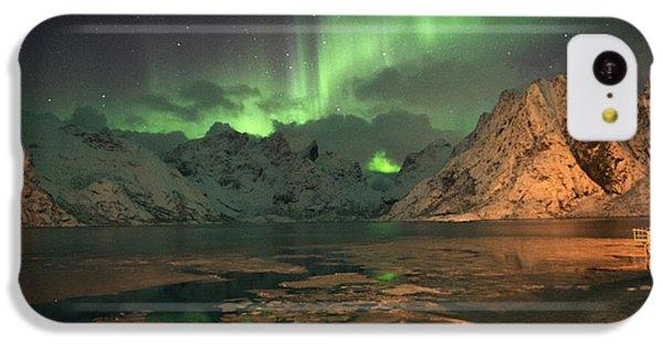 Northern Light In Lofoten, Nordland 1 IPhone 5c Case by Dubi Roman