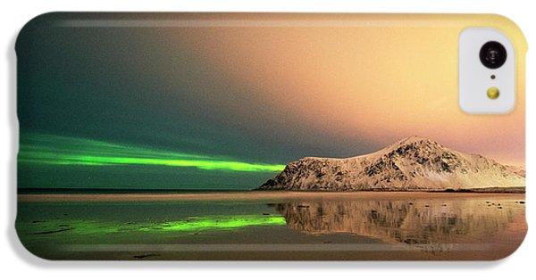 Northern Light In Lofoten Nordland 5 IPhone 5c Case by Dubi Roman