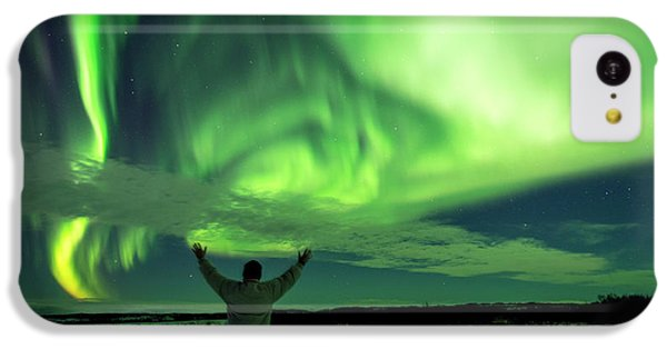Northern Light In Western Iceland IPhone 5c Case