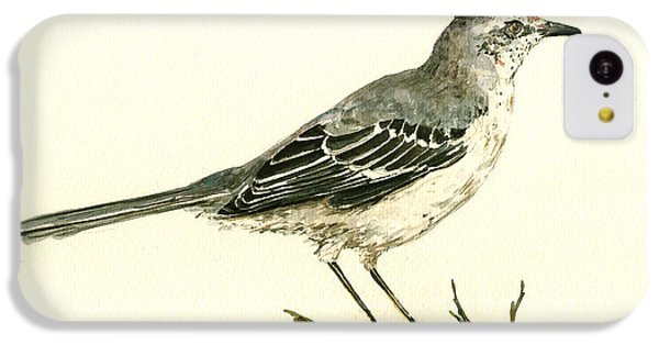Northern Mockingbird IPhone 5c Case by Juan  Bosco