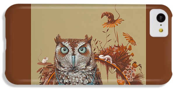 Northern Screech Owl IPhone 5c Case by Jasper Oostland